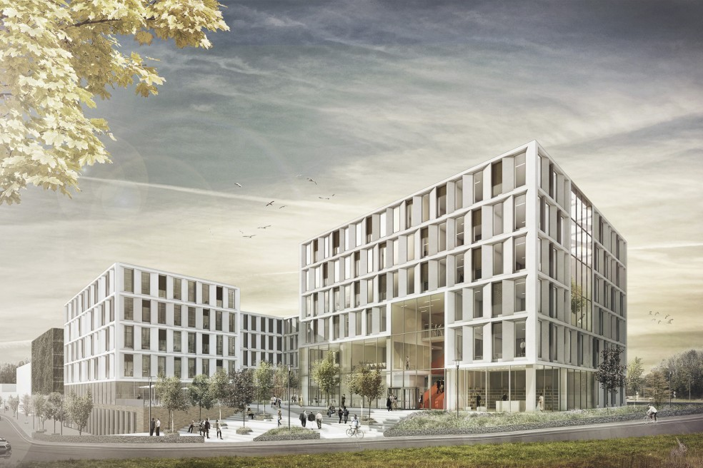 Universiteitsgebouw Biomedizin technik, Aachen