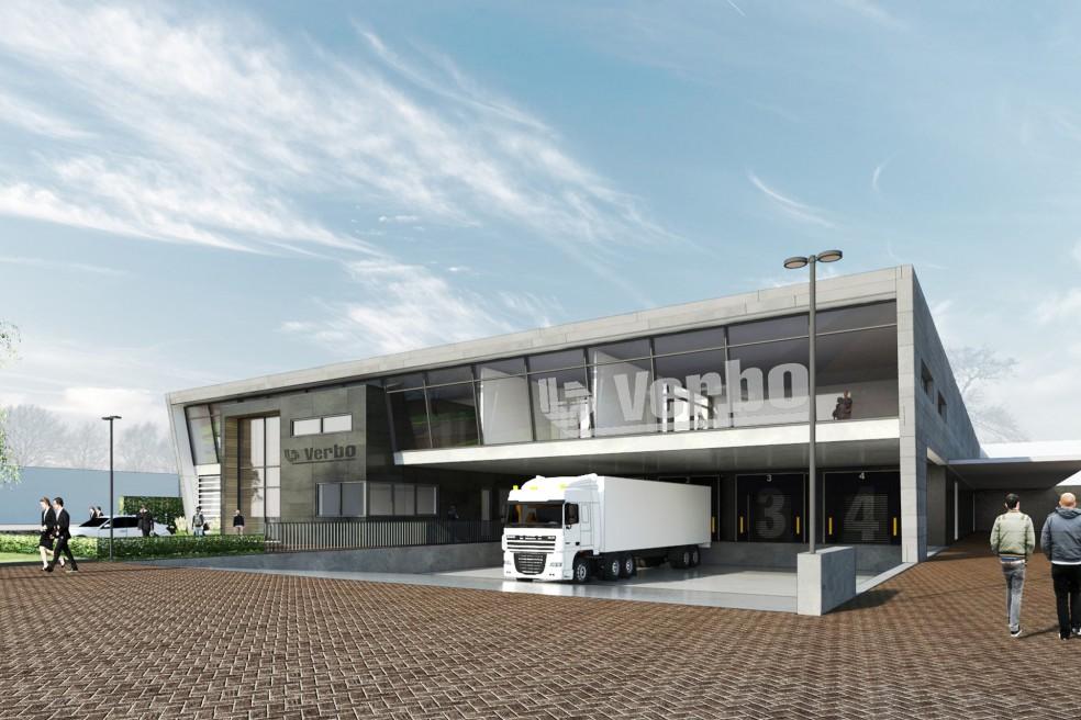 Bedrijfshal & kantoor Verbo, Tilburg