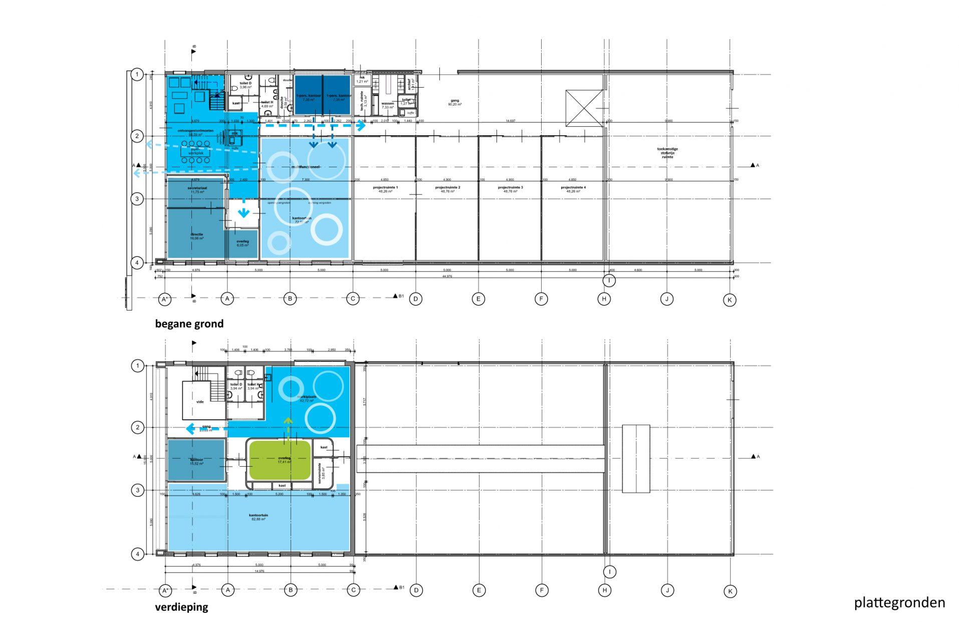 AE-group kantoor+lab plattegronden JYB architecten-06