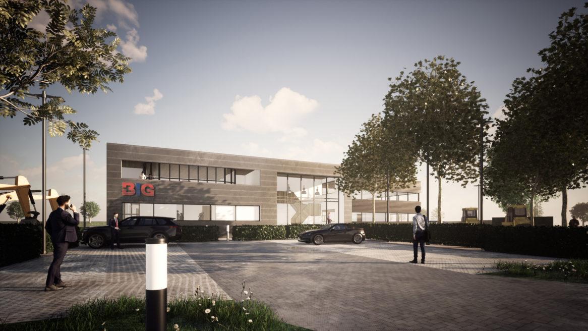 Transformatie kantoor BIG Machinery, Velddriel