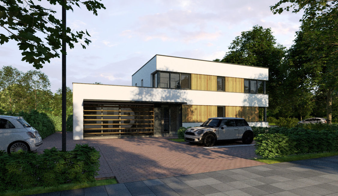 Kantoor en woonhuis  Rubenslaan, Waalwijk