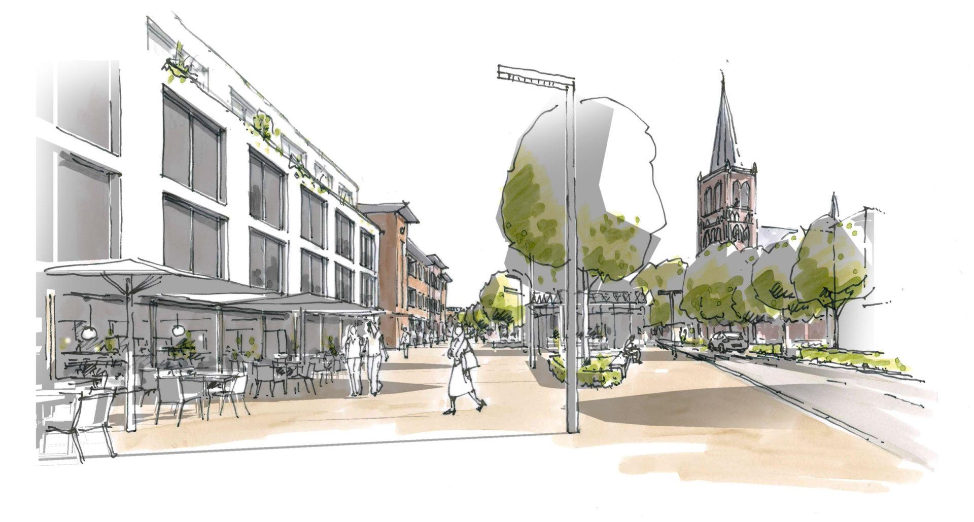 JYB architecten dorpsplein Mierlo Hout-02