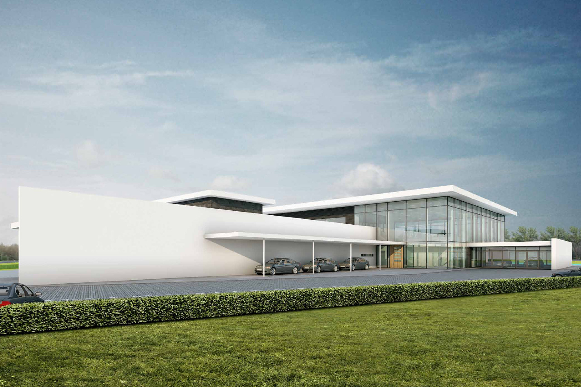 Showroom BMW, Gouda