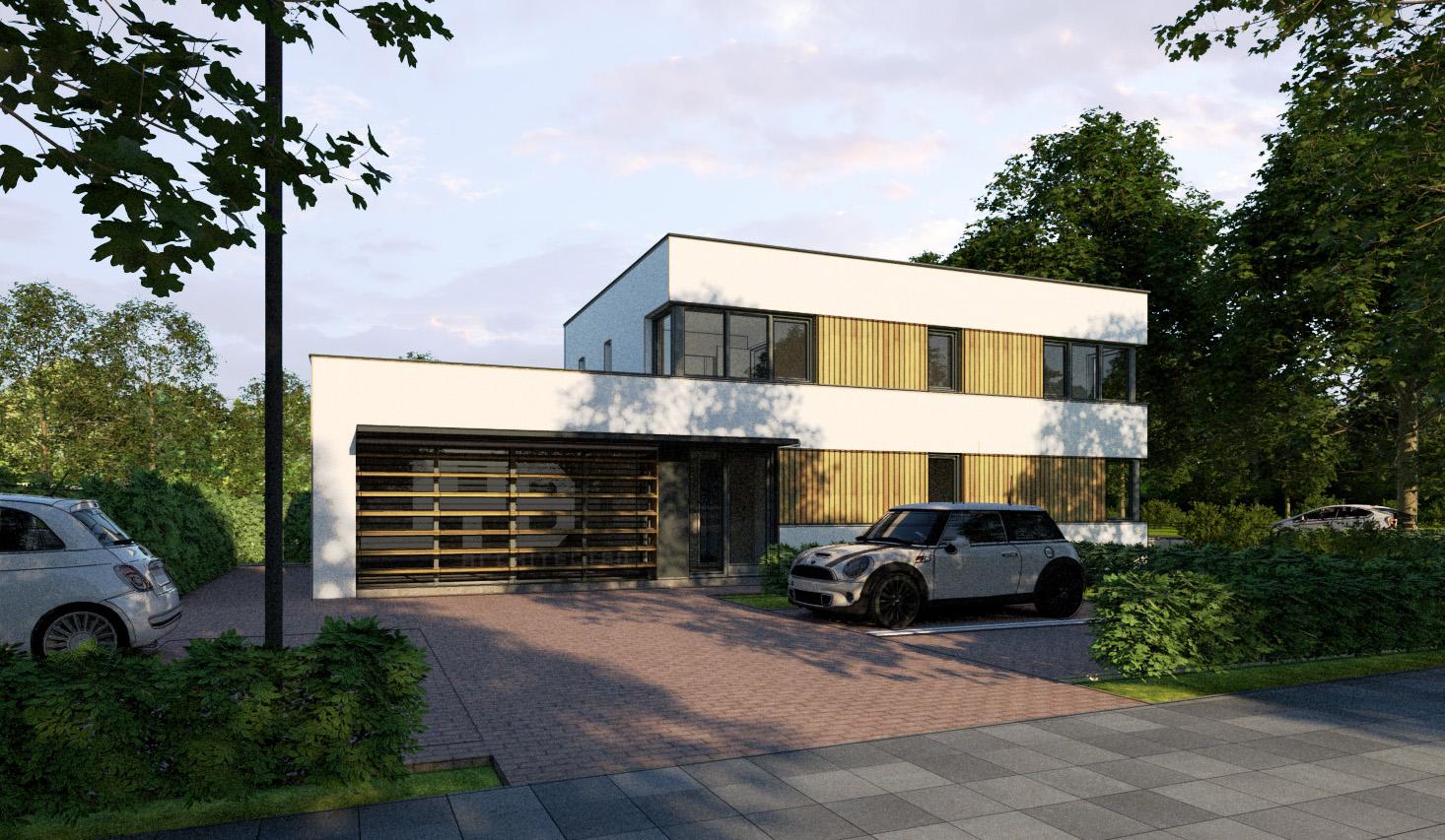 Kantoor & woonhuis  Rubenslaan, Waalwijk