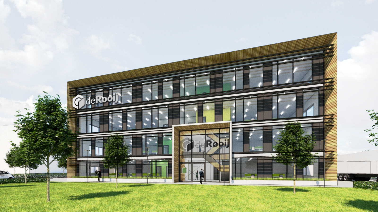 kantoor & bedrijfshal, Waalwijk